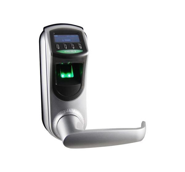 Cerradura biométrica con apertura de huella o clave