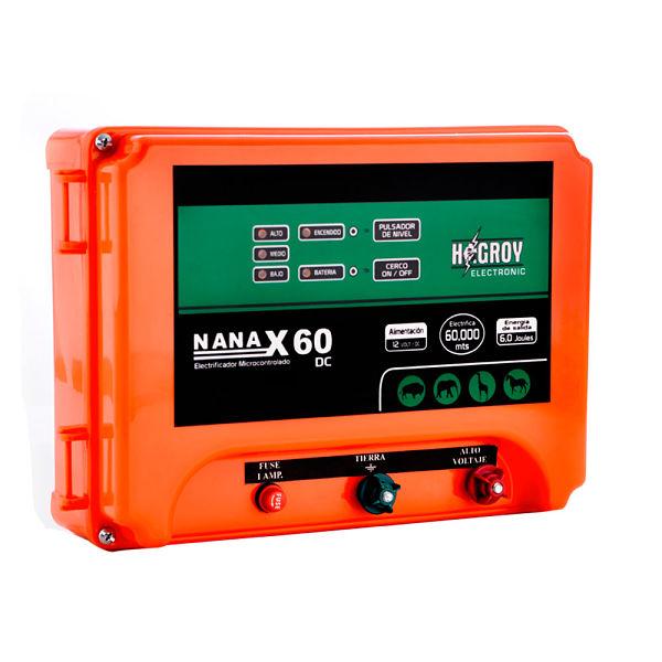 Electrificador de Cerco Ganadero NANAX 60